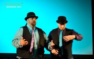 Die Tanz-Show auf der eEvolution Konferenz 2015