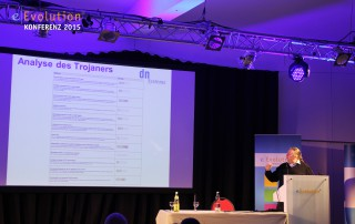 Die eEvolution Konferenz 2015 mit dem Vortrag von Lukas Grunwald