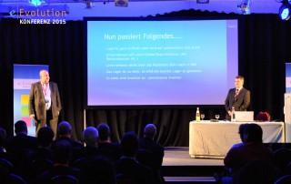 Der Vortrag von Alexander Schmidt und Jan Freitag auf der eEvolution Konferenz 2015