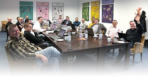 Die Teilnehmer des eEvolution Entwicklertag 2014