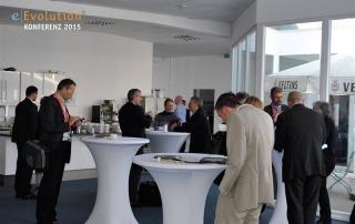 Kaffeepause auf der eEvolution Konferenz 2015
