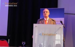 Frank Wuttke mit einer Rede zum Ausblick zu eEvoultion 2016