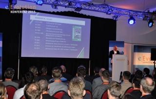Martin Kind der Präsident des Sportvereins Hannover 96 zu Gast auf der eEvolution Konferenz