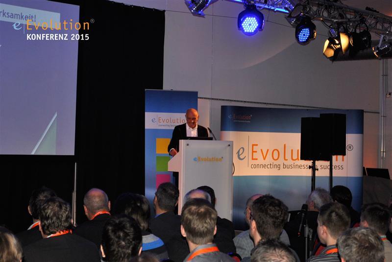 Vortrag von Martin Kind auf der eEvolution Konferenz 2015