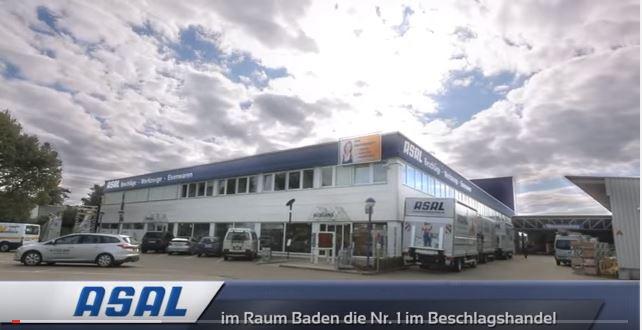 Außenaufnahme des ASAL Firmengebäudes