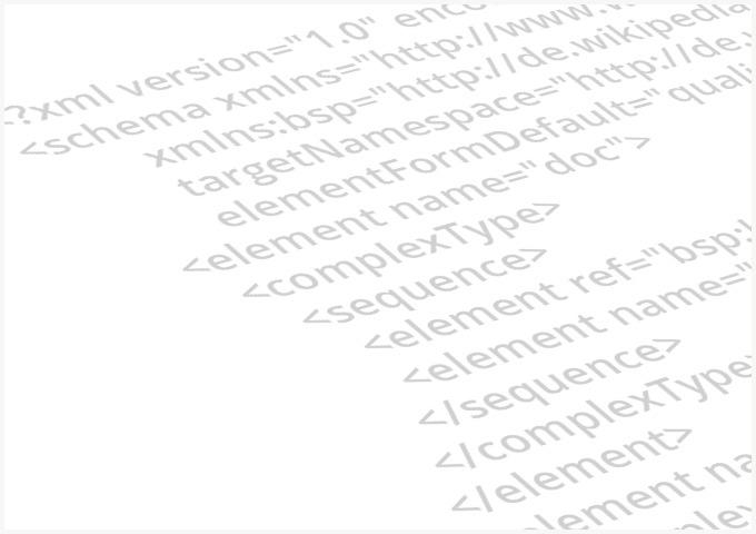 Einige Zeilen XML zur Veranschaulichung