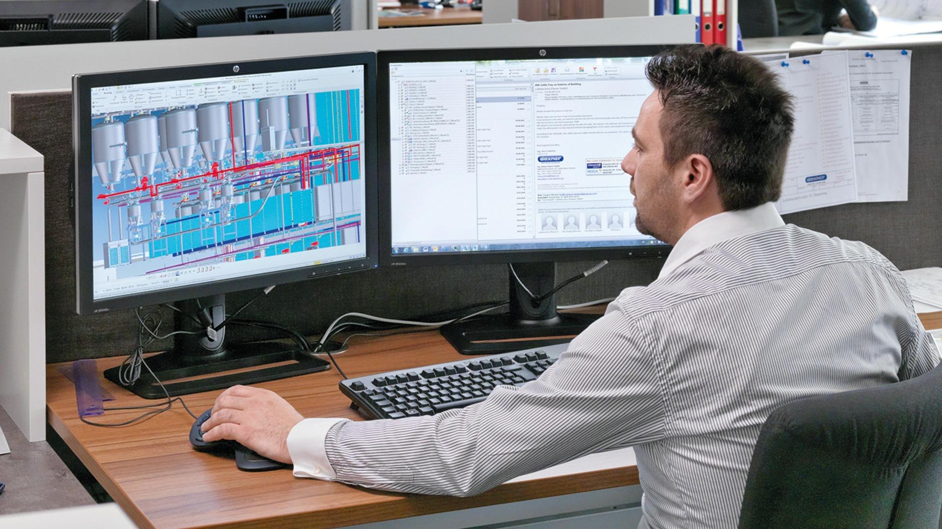 Anlagenkonzeption bei Johann Daxner GmbH