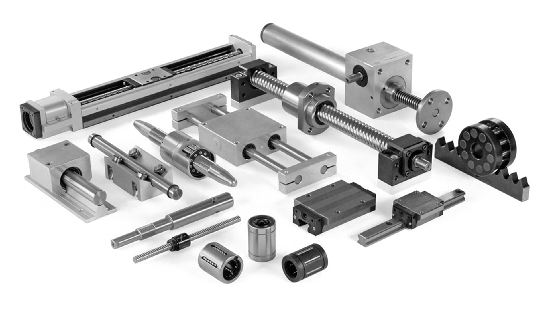 Nahaufnahme Produktauswahl LTK Lineartechnik Korb GmbH