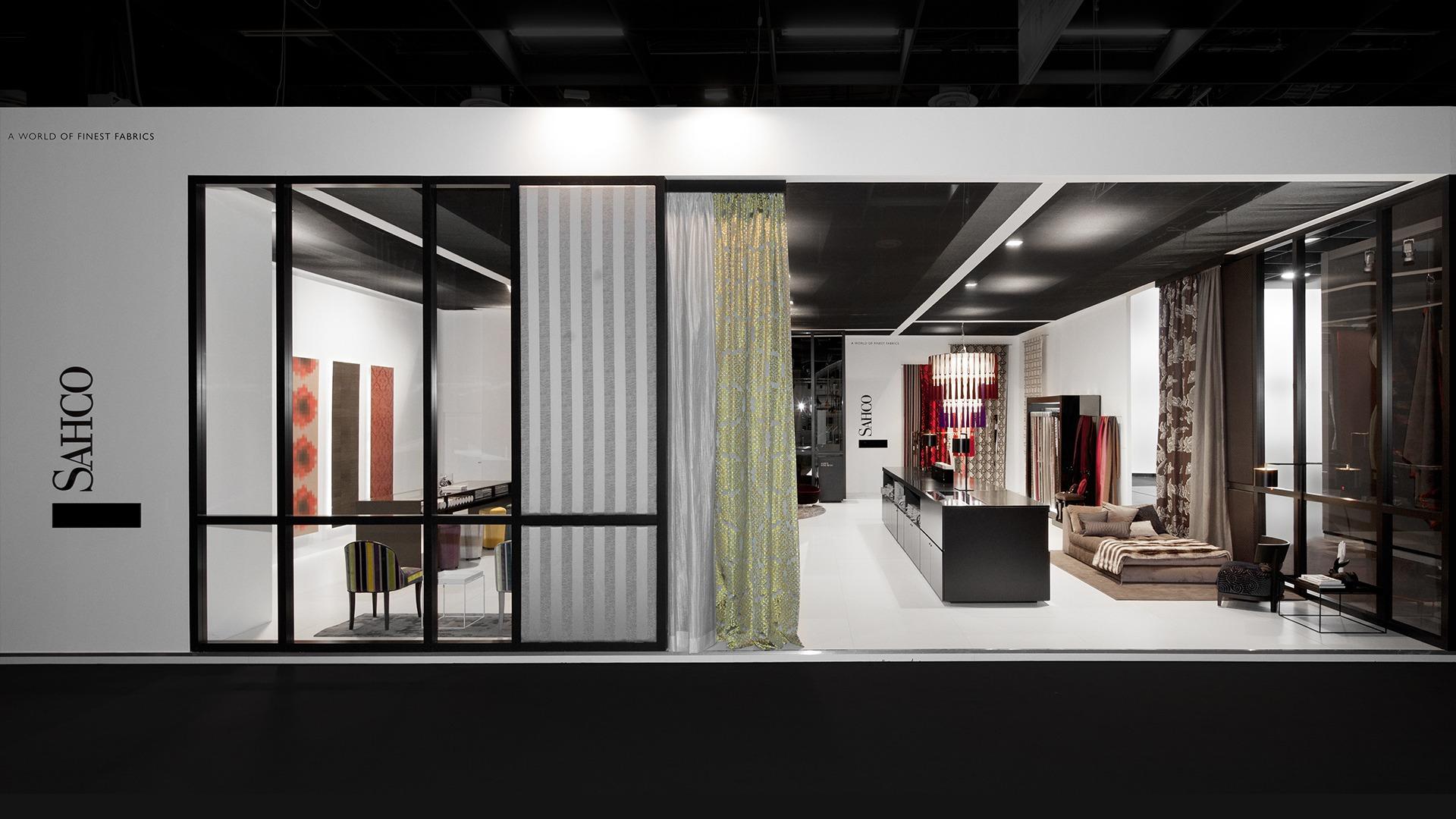 Ausstellungsraum der SAHCO Hesslein GmbH & Co. KG