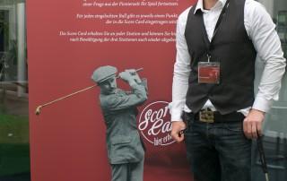 Golf mit einem Pro