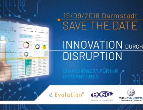"Partnerveranstaltung ""Innovation durch Disruption"" am 19.09.2018 in Darmstadt"