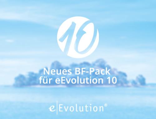 Neues BF-Pack für eEvolution 10